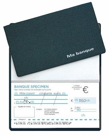 Ref. 1003 - Etui chéquier portefeuille