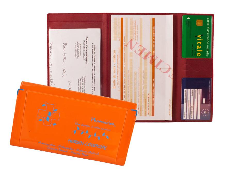 Ref. 1313 - Porte carte sécurité sociale banque