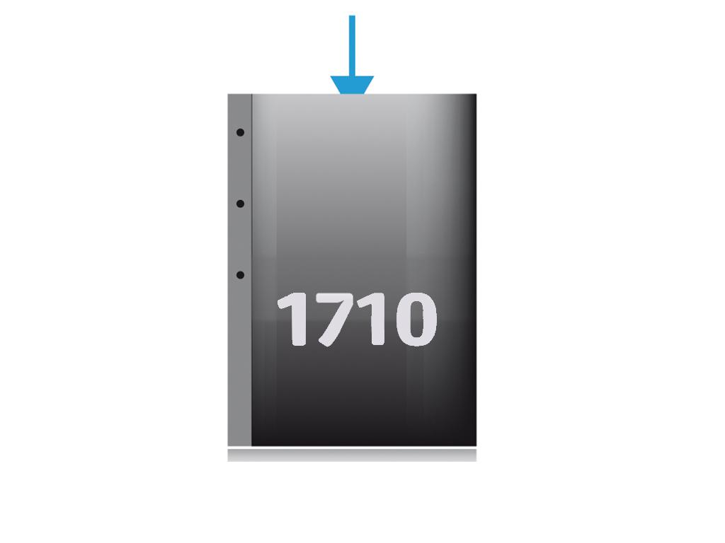 Ref. 1710 - Pochette à bande perforée