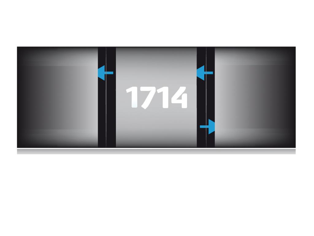 Ref. 1714 - Pochette multi volets