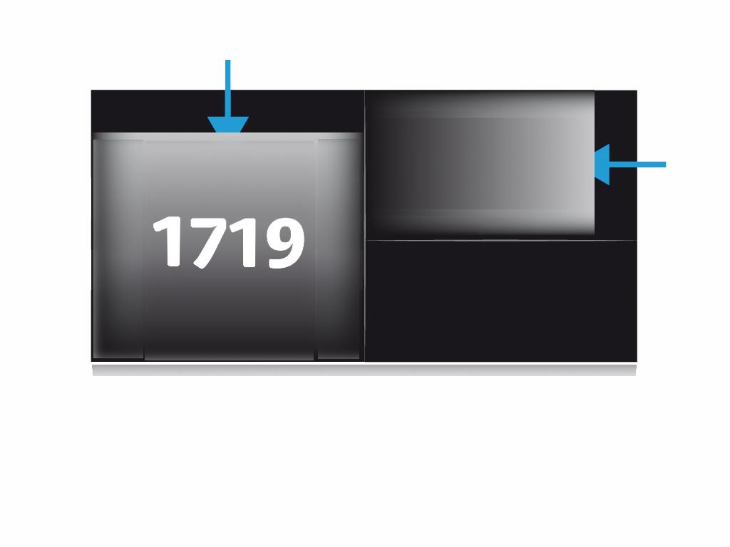 Ref. 1719 - Pochette complexe