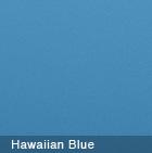 Plain Gum Hawaiian Blue