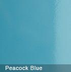 Glossy Peacock Blue