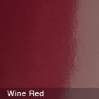 Glossy Wine Red