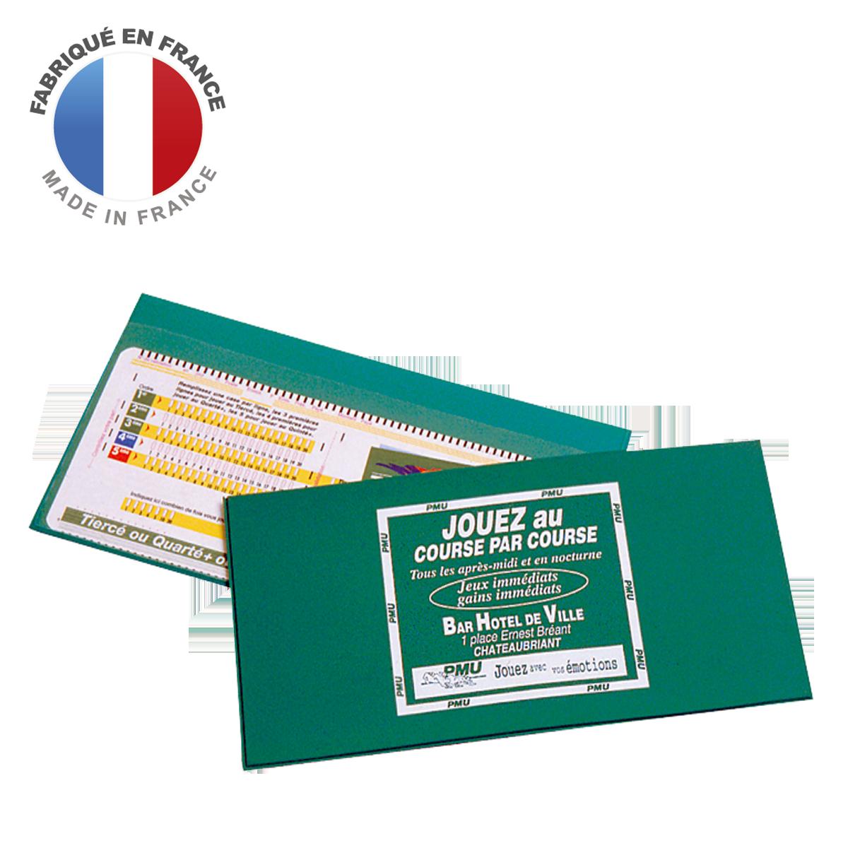 Ref. 1201 - Pochette PMU 1 volet