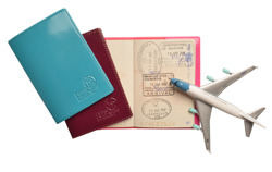 Ref. 1521 - Protège passeport cousu