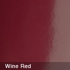 Glossy Wine Red